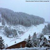 Alpy pod sněhem - říjen 2014