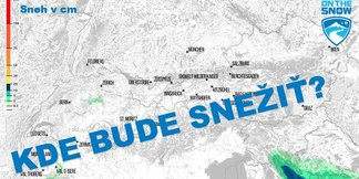 Mapa: Každodenná predpoveď sneženia v Alpách - ©ZAMG / Skiinfo / OnTheSnow