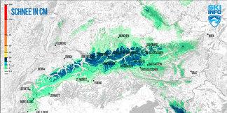 Raport narciarski: w piątek i sobotę opady śniegu w Alpach i w Polsce - ©[c] Skiinfo / ZAMG