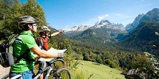 3 percorsi in mountain bike sulle Alpi