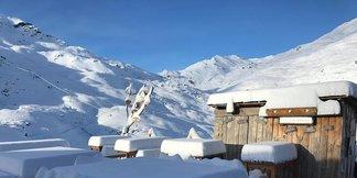 Een halve meter verse sneeuw in de Alpen (26-27 maart 2017) - ©Val Thorens/Facebook