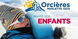 Pour le printemps du ski, Orcières invite les enfants