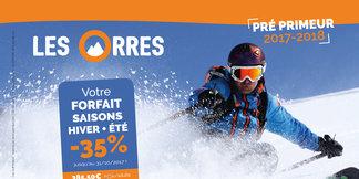 Le forfait saison pré-primeur 2017-2018 est en vente ! - ©Office de tourisme des Orres