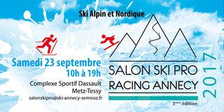 Salon ski pro ce week end sur Annecy