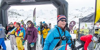 Val Thorens ski opening day photos - ©C.Cattin/Val Thorens