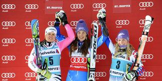 Saint-Moritz : Lara Gut manque de peu le podium