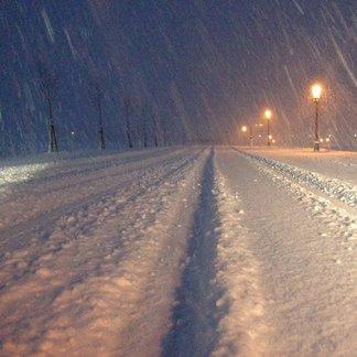 Schneefall in Österreich (26.12.2014)