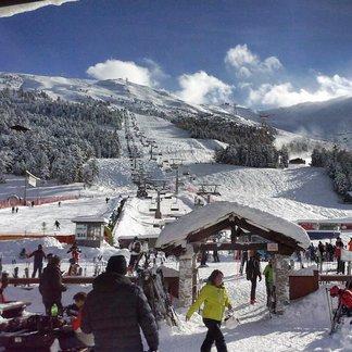 Snowfall in Italy Jan. 18, 2015