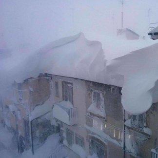 Januari 2017, verse sneeuw in Italië. - ©Vallefura Pescocostanzo Ski Facebook