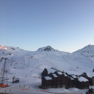 La Plagne - The snow on the slopes are good in the morning but not great in the early afternoon to evening.  - ©Tom