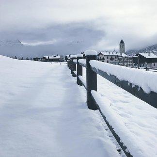 Neve di primavera sulle Alpi! 26-27-28 Aprile 2017 - ©Livigno Facebook