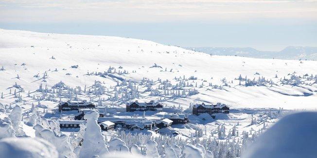 Vinterferiestemning på Hafjell