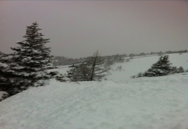 awesome day today!!! keep on snowing:)