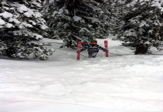 great deep powder, upper mountain was great.