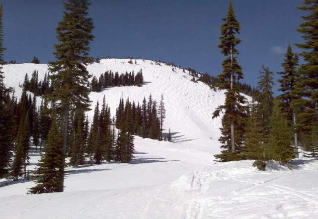 Doesn't get much finer for spring skiing!