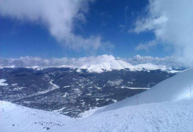 great day at Breck!!! still so much pow at the end of the day!