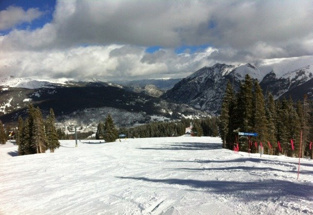 snow is fine, that pic below isnt even from copper mountain