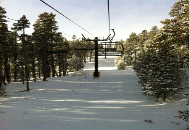 good snow, just not enuf for many runs.