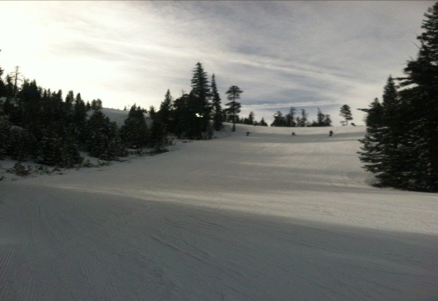 great day if skiing at Keystone today!