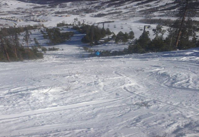 pic from west mountain, all terrain parks are open