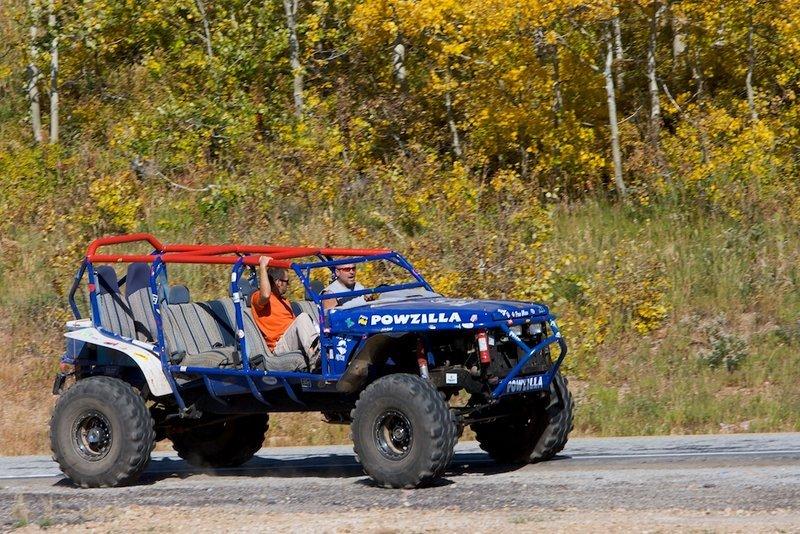 Powder Mountain's Powzilla ATV.