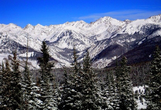 gore range from vail