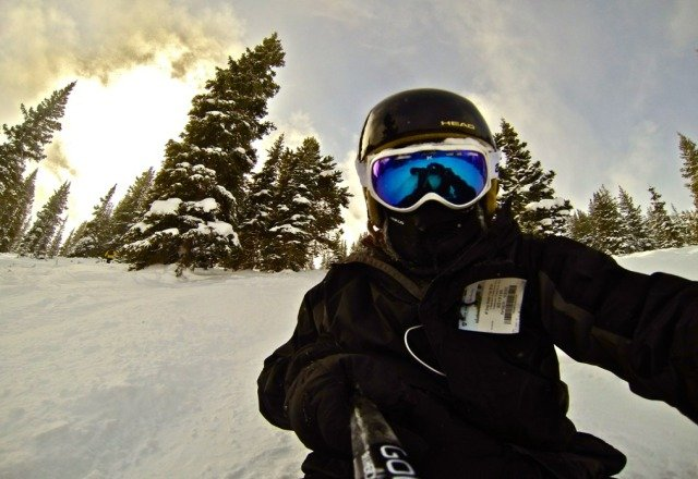 it was a great day shreddin gnar