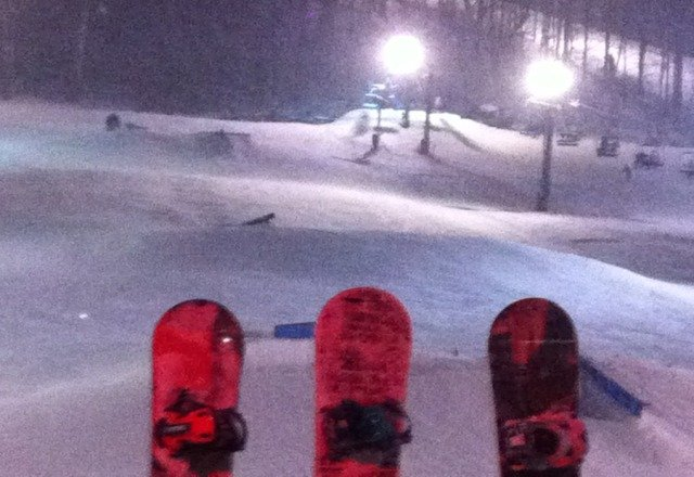 great conditions on the slopes tonight!  hats off to the snow crew that does wonders making it all work!  fireworks tonight were the best way to ring in 2013!