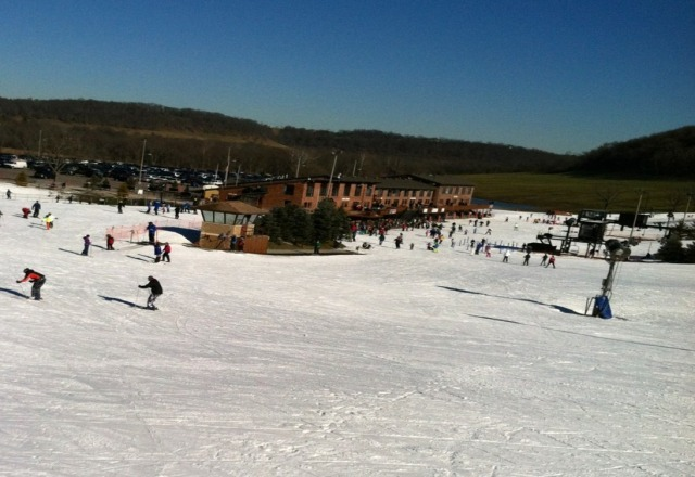 Prefect Day on the North Slopes Sunshine and Kids everywhere.