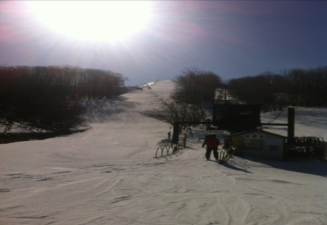 get out here NOW! beautiful Spring skiing!