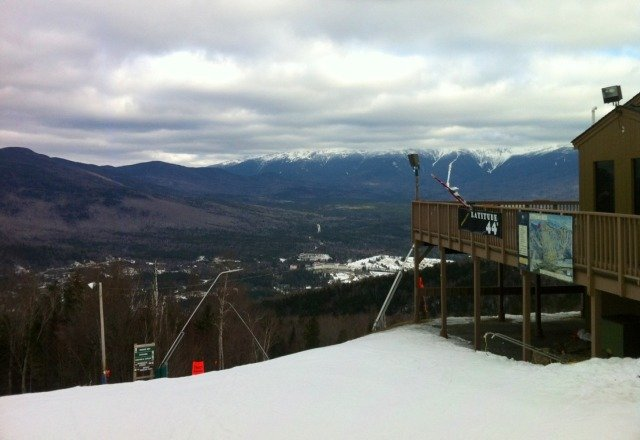 rode there again yesterday. it snowed all day. Rcvd about 4-5