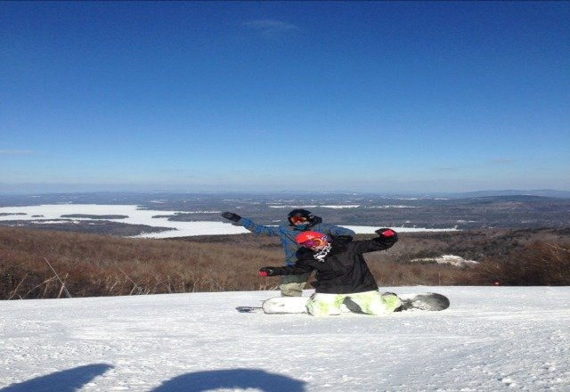 Yesterday conditions were perfect. Sun was out almost all day and the snow was soft but not mushy. very good day for all. im surethe conditions will stay the same today. Sunapee does an amazing job at grooming and cleaning up.