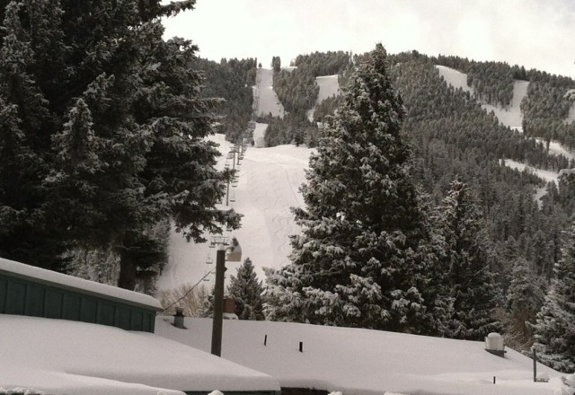 12 inches new and still snowing!!