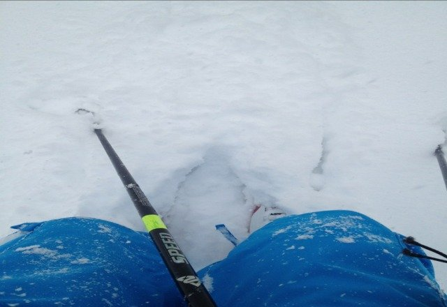 there has to be over a foot atleast!!  crazy good powder