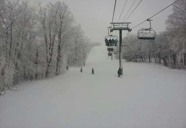 Was there on 12/30, cold, crowded, but the loose powder was great.