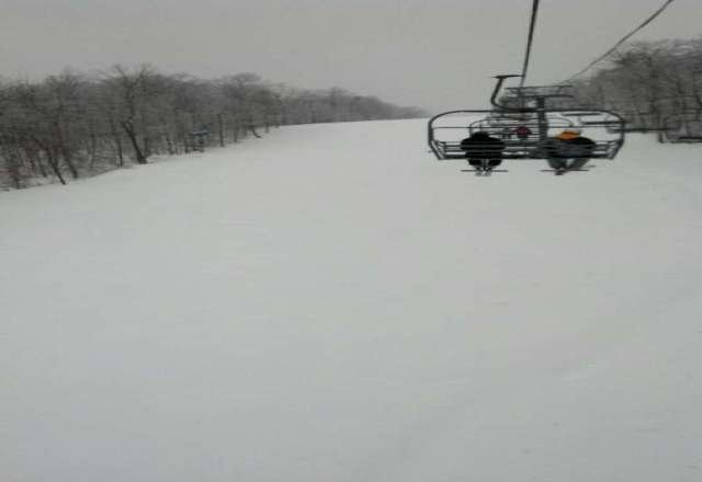 The storm brought us some good snow good conditions come on down.