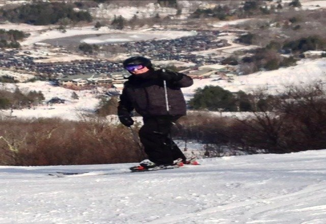 best skier on the mountain