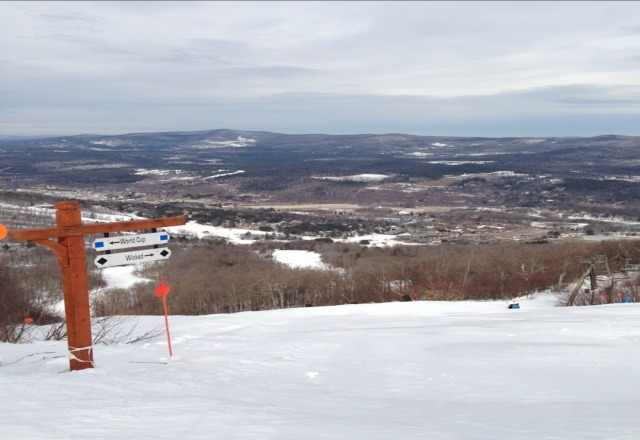 I do not agree with past post.  Mountain is groomed to perfection,   a really great day yesterday & even better today.  Come out if you can!