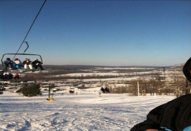 perfect skiing weather!