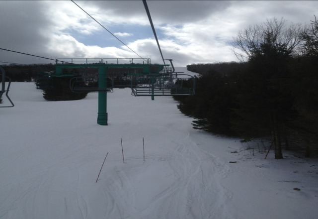the mtn is great better get it in before you cant theres about 100 people at the whole place, --owego ny