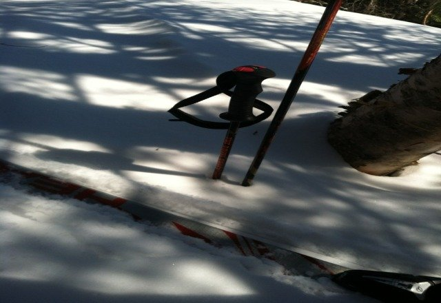 check the depth of my pole... im 6'4