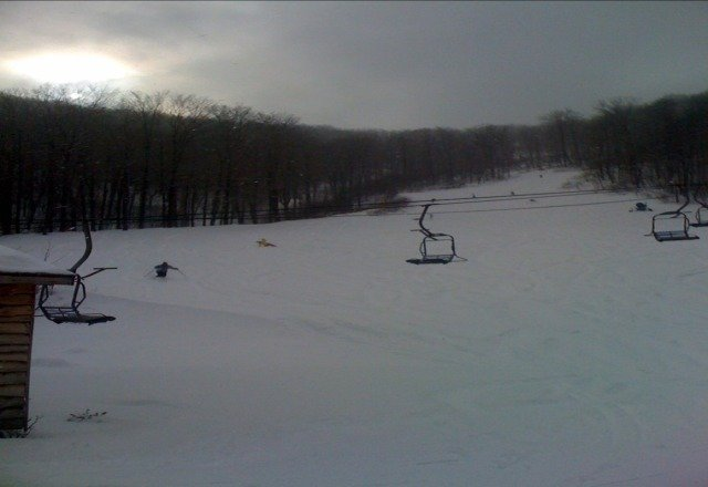 Hey MRG skiers PA has snow....bring your snowboards