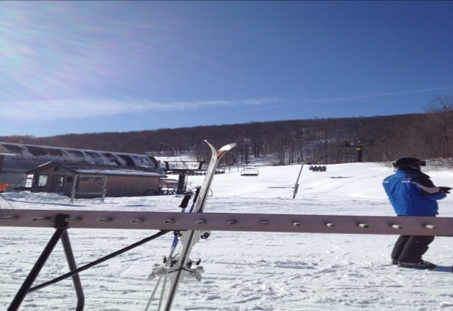 best conditions of year by far.  bluebird day, no wind, packed powder galore