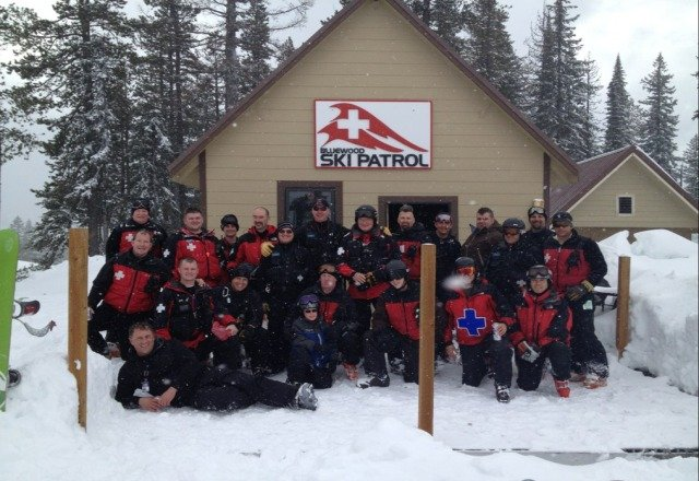 The Bluewood Ski Patrol