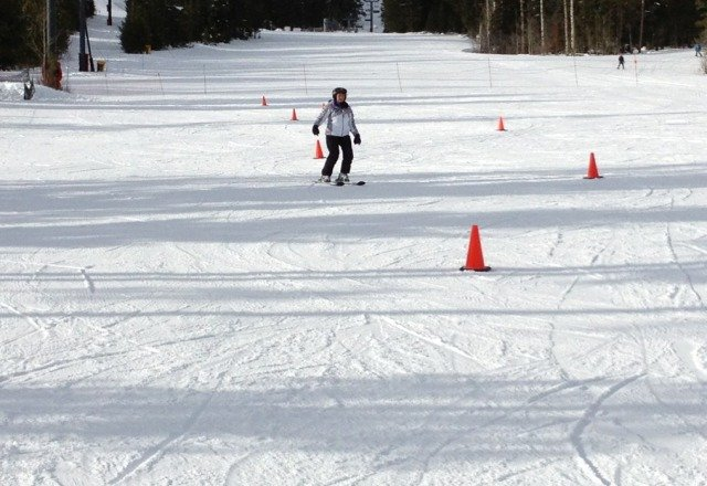 my first attempt skiing. great instructors at JH Resort. Jimmy Anderson  was great! loved it!