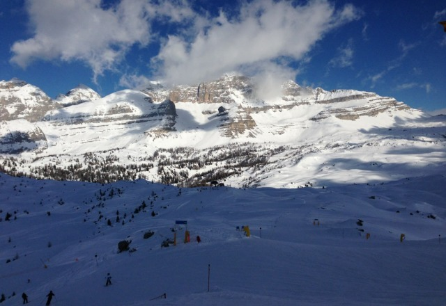 groomed skiing is just winderful and for those of you who have not been here wow - whole lit of mountains.