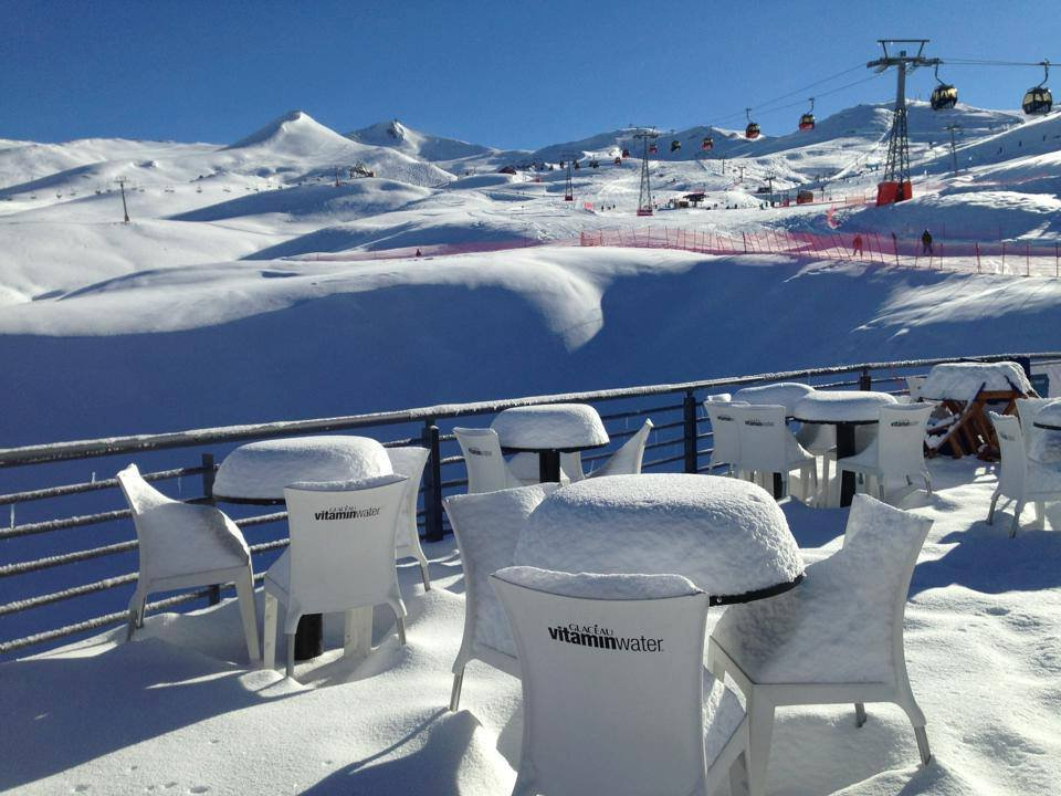 Fresh powder at Valle Nevado