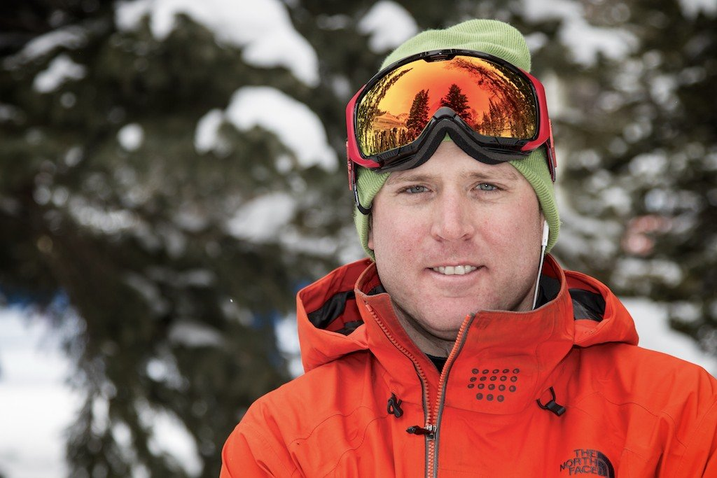 KC Gaudet: Former college racer, big mountain skiing competitor, Alta ripper