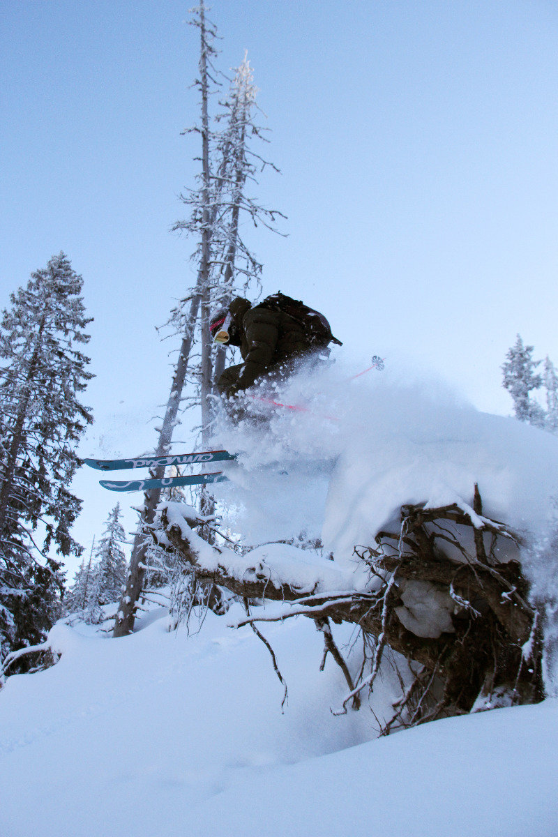 Off piste skiing at La Sambuy - ©M. Sauerwald
