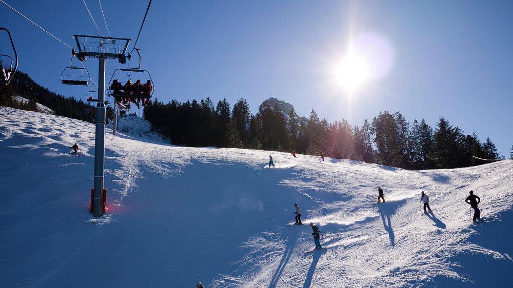 Nice ski day at la Sambuy - ©D.Reto